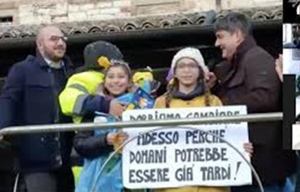 """Gubbio:grande successo per il progetto """"00 SECCO: licenza di riciclo""""."""