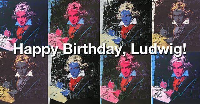 16 dicembre 2020 – Buon compleanno Beethoven