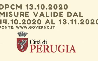 COVID19: Misure valide dal 14.10 al 13.11/2020