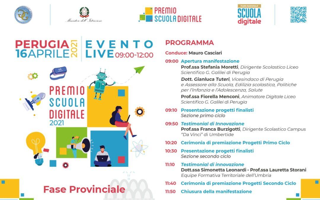Si avvicina la finale del Premio Scuola Digitale 2021