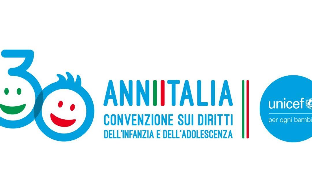 27 maggio: XXX anniversario della ratifica in Italia della Convenzione ONU sui diritti dell'infanzia e dell'adolescenza
